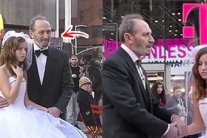 12-year-old marries a 65-year-old man: The result of this social experiment ignites a strong response from unaware respondents