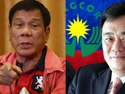 Game over! Casino tycoon's arrest ordered by Duterte