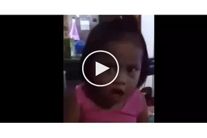 This little girl sure is tough..what she did will impress you!
