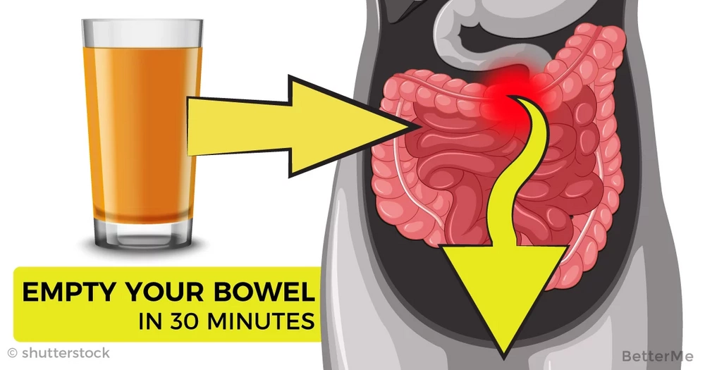 Just 1 cup of this can empty your bowel for half an hour