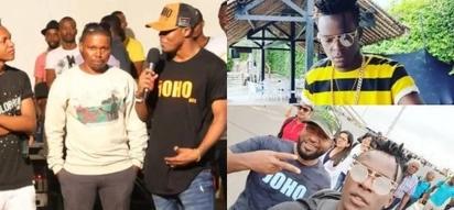 See how Hassan Joho spoilt Willy Paul and Ali Kiba in Mombasa (Photos)