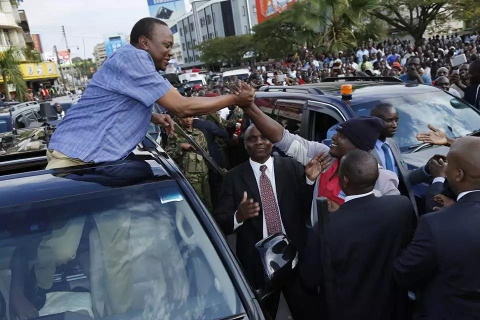 raila takes on Uhuru's spending and IEBC