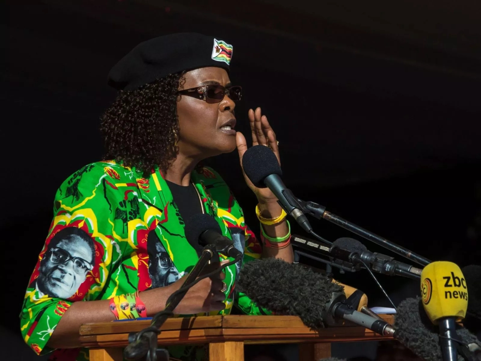 Just in: Mugabe's wife leaves Zimbabwe as military takes over Harare