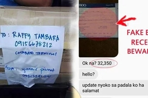 Netizen gives strong warning against scammer who sends fake receipts as proof of bank payment to deceive seller to deliver items