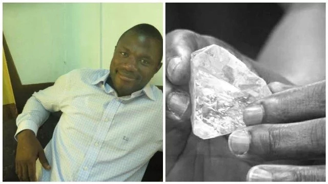 Pastor who found one of world's largest rough diamonds reveals his plans after it's sold (photos)