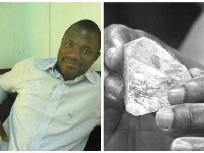 Pastor who found one of world's largest rough diamonds reveals his plans after it's sold