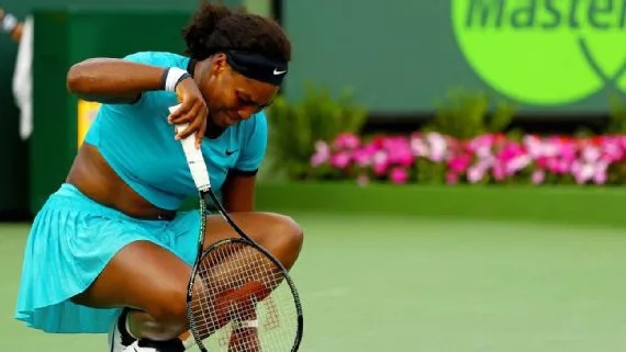 Serena Williams becomes onlooker in Miami Open loss