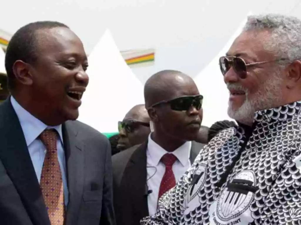 Awkward moments of President Uhuru Kenyatta in Ghana