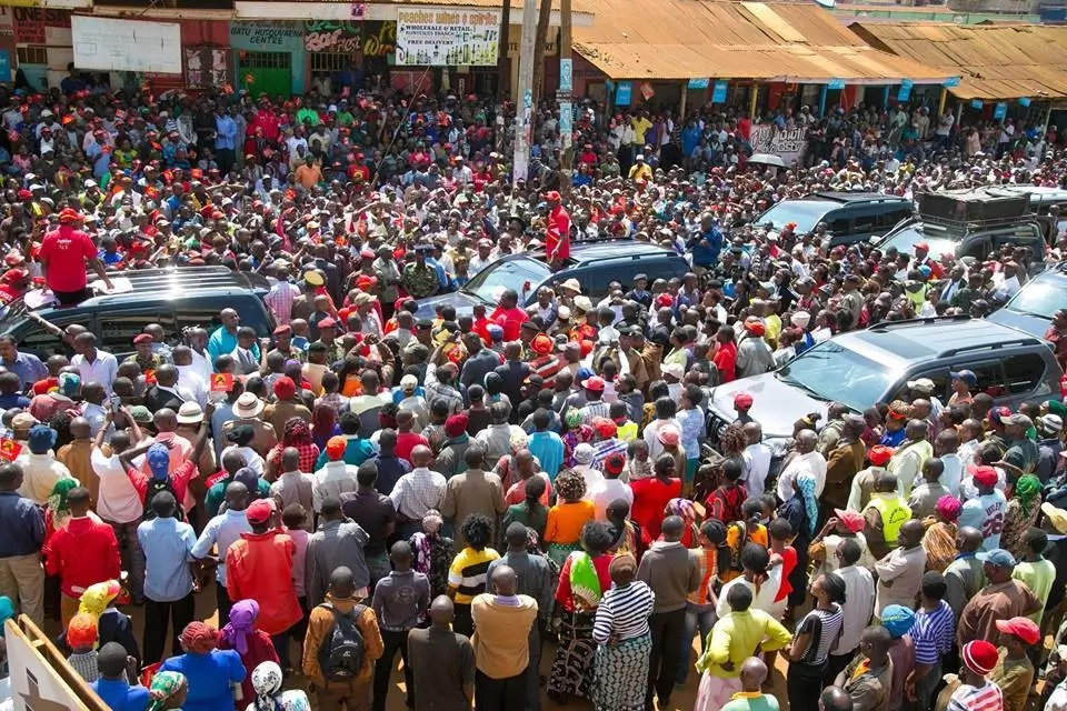 The same God who gave us victory on August 8 will be there on October 26-Uhuru Kenyatta
