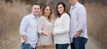 Woman offers her womb to carry her best friend's TWINS, with this sweet result (photos)
