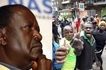 Do not report to work on Monday, August 14- Raila asks supporters