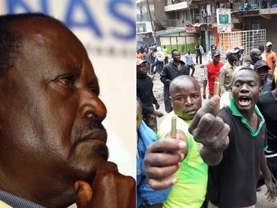 Hakuna kwenda kazi Jumatatu, Agosti 14 na nitatoa mwelekeo zaidi – Raila azungumza baada ya kushindwa