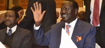 Raila unveils his branded 800 vehicles for the planned ODM Mombasa rally