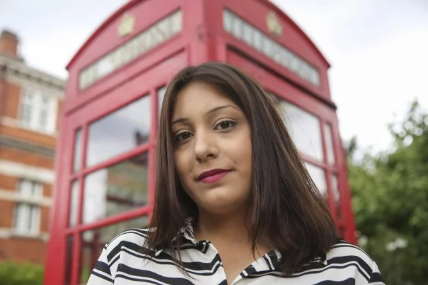 Women abandoned in phonebox found her savior 22 years ago