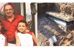 Man's casket completely exposed a day after it was buried! Find out what happened!
