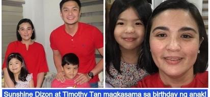 Buo ang pamilya! Sunshine Dizon and Timothy Tan celebrate daughter's 7th birthday