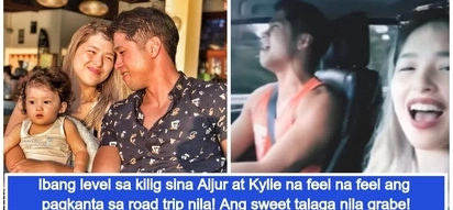 Super cute couple talaga! Netizens get super kilig over Aljur Abrenica and Kylie Padilla's road trip viral video