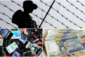 Huli kayo! Authorities confiscate cash, gadgets in North Cotabato District Jail