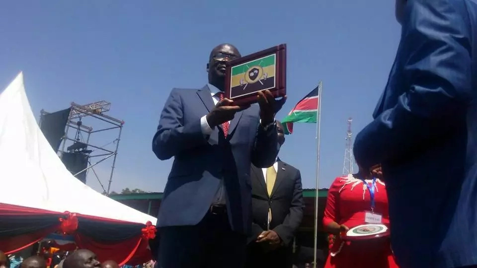 Siaya Governor Cornel Rasanga fires county workers who did not vote for him