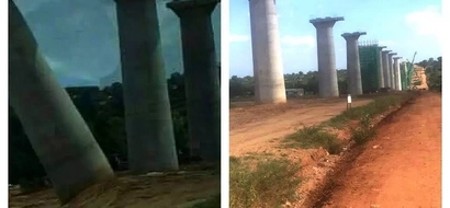 PHOTOS: Govt Dismisses Claims That SGR Is Weak And Already Falling Apart