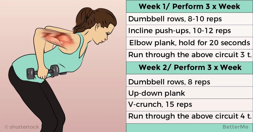 4-week challenge that can help you sculpt your arms
