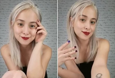 Cristine Reyes shows new hair style