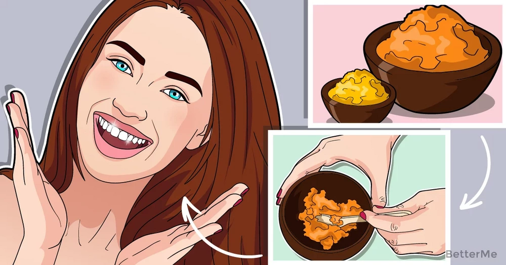 Turmeric can help you reduce teeth stains and discoloration