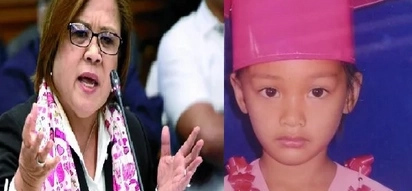 De Lima vows JUSTICE for 5-year-old girl killed in DRUG war
