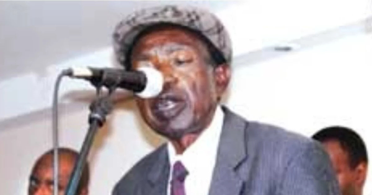 Sasa ni Lunch time hit-maker Gabriele Omolo dies aged 79 in Busia