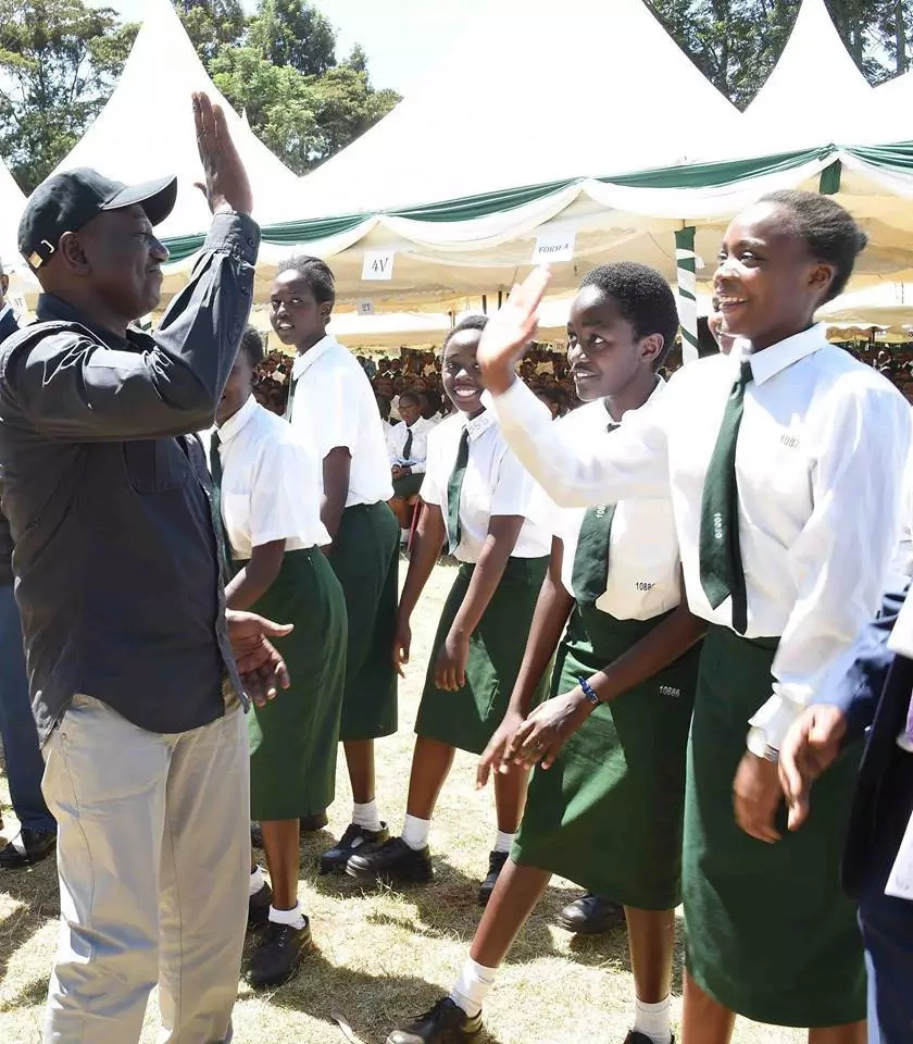 Ruto- cheating on exams must be put to an end!