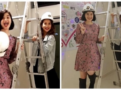 Anne Curtis and Karylle become business partners and opens a KTV bar!