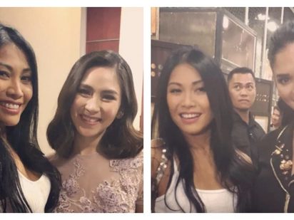 International singer Anggun praises Sarah Geronimo and Pia Wurtzbach