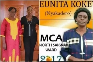 Meet Akothee's MUM campaigning to be an ODM MCA