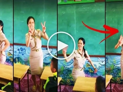 Watch this awesome math teacher teach the multiplication table to her students through dancing! Her epic video in class has gone viral!