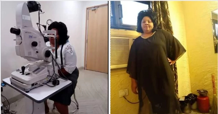 This blind woman who couldn't breathe on her own received an UNEXPECTED miracle (see photos)
