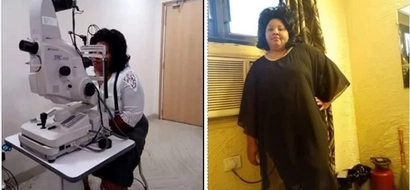 Joy and relief as Gladys regains her sight in India after being blind for 5 years