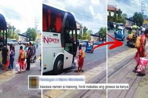 This Igorot man wearing a 'bahag' just wanted to go home by riding a bus. But what the Pinoy bus driver did to him caused outrage on social media!