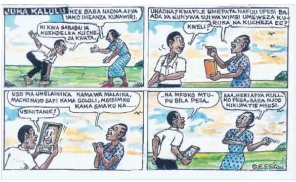 Nation Media Group oldest cartoonist passes on
