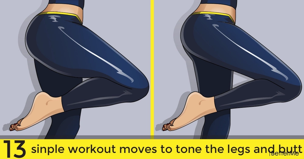 13 sinple workout moves to tone the legs and butt