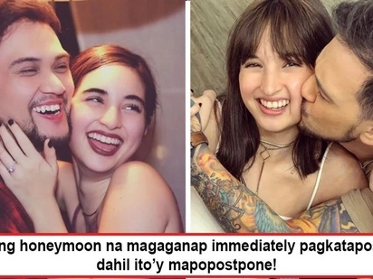 Nakakabitin naman yan! Coleen Garcia and Billy Crawford no honeymoon immediately after wedding because they don't want to have a baby yet?