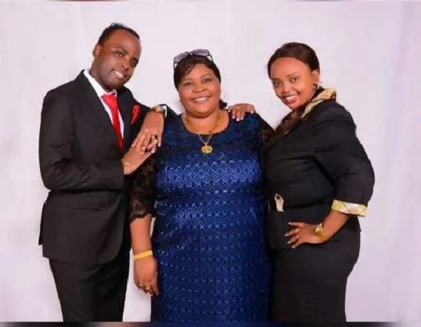 Mike Sonko's BEAUTIFUL 'pastor' introduces her mum to Kenyans(photos)