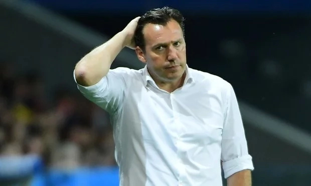 Marc Wilmots sacked as coach of Belgium