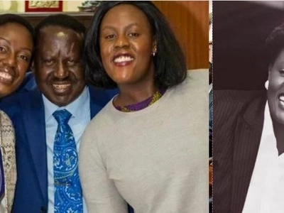 Raila's daughter reveals what she does for a living and you won't believe it