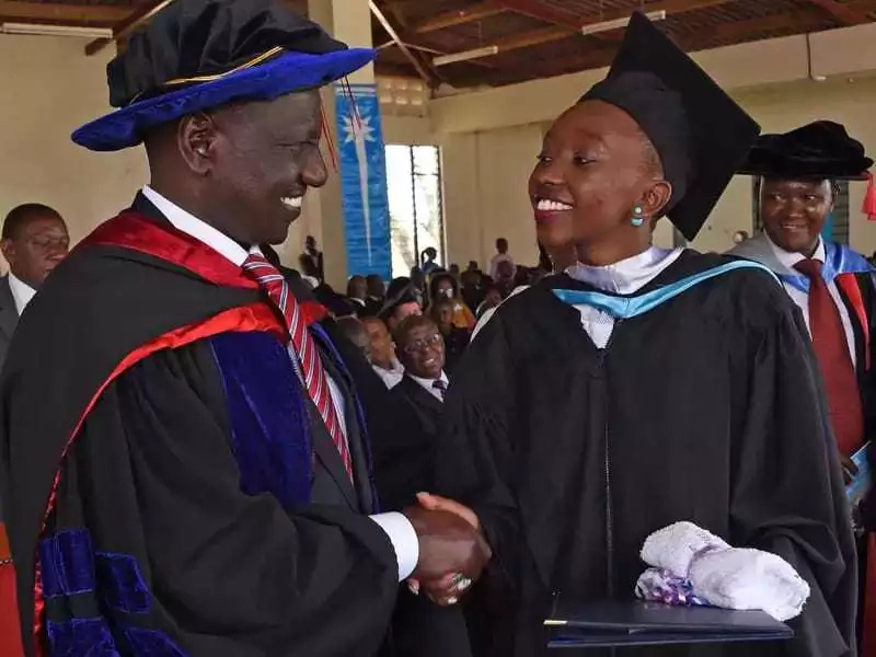 Deputy president, William Ruto commits an academic blunder
