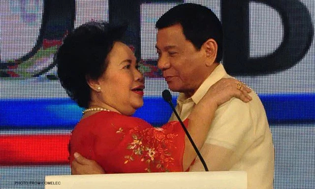 Miriam slams Duterte; inspires the youth