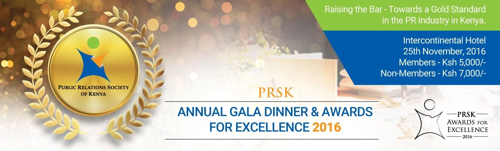 The PRSK awards for excellence are here again