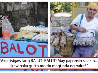 Sino bang mas tama? Balut vendor schooled a networker on success and how to sell products in viral post