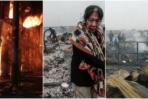 La tragedia de Cantagallo: un voraz incendio dejó en la calle a 500 familias