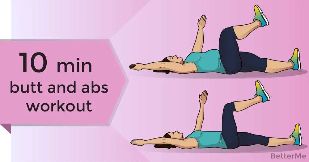 A 10-minute at-home butt and abs workout for busy ladies