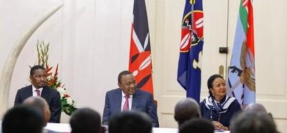 Education CS Amina is tougher than Matiang'i - Uhuru warns education cartels,students